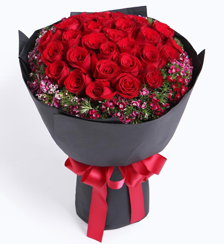 忘情巴黎--33枝红玫瑰