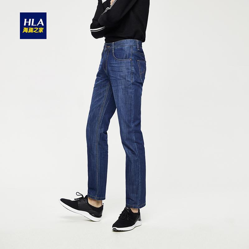 海澜之家  男装 休闲牛仔裤